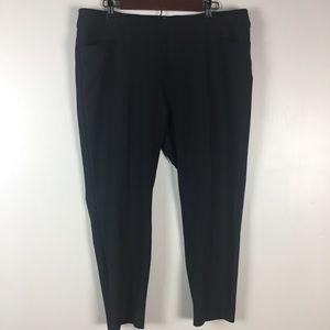 Adidas Golf Capri Pants Womens Size XL Skinny Stre